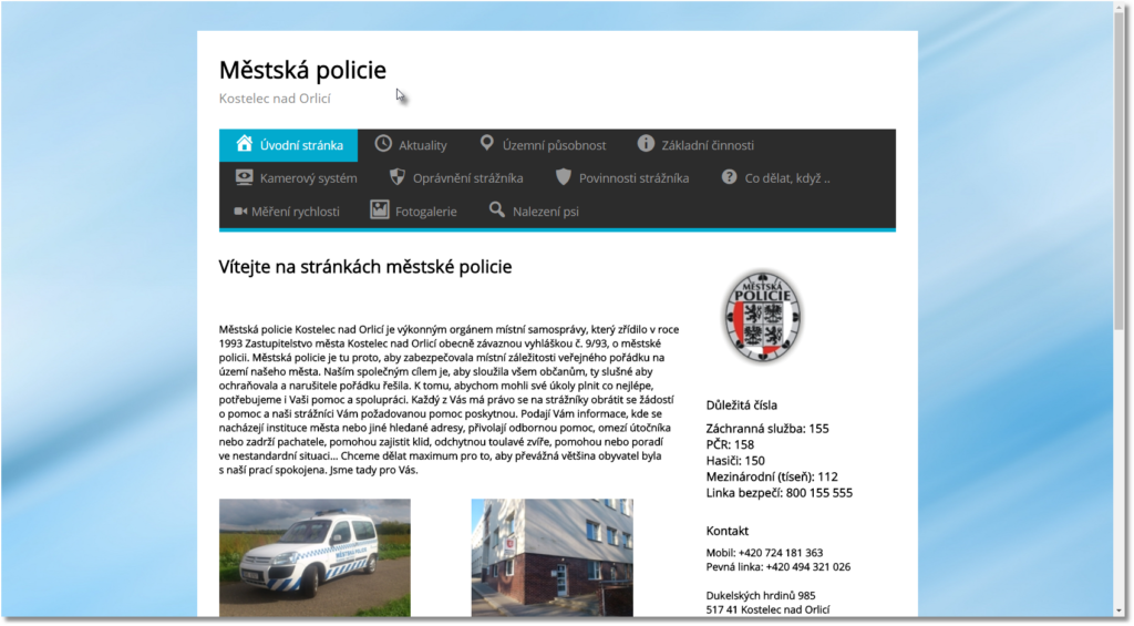 Městská policie Kostelec nad Orlicí