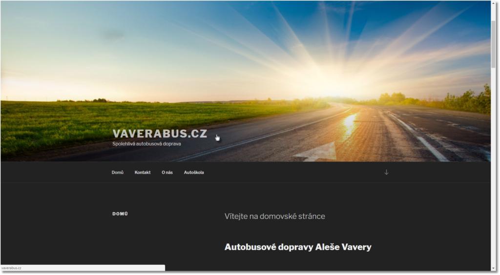 VAVERABUS.CZ Spolehlivá autobusová doprava