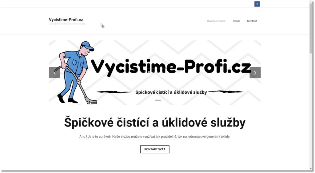 Vycistime-Profi.cz Kompletní čistící a úklidové služby